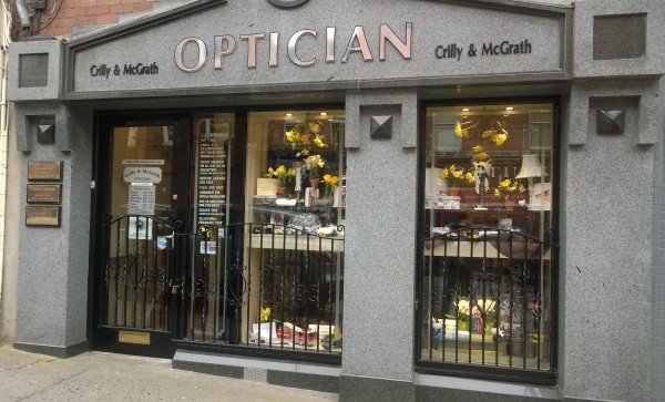 Crilly McGrath Shop Front